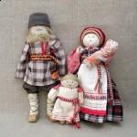 Куклы, сделанные из тряпок
