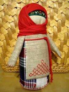 Народная куколка-оберег Крупеничка